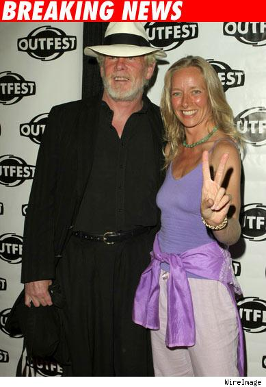 Nick Nolte and Clytie Lane