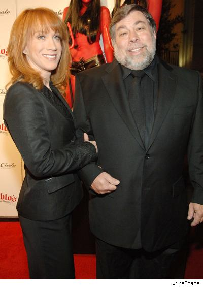 Kathy Griffin, Steve Wozniak