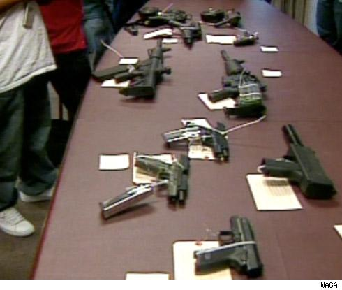 guns seized in T.I. case