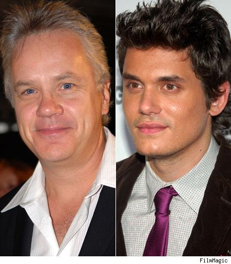 Tim Robbins, John Mayer