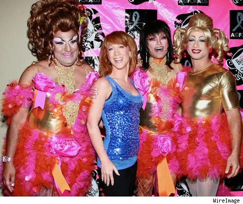 Kathy Griffin and the French Poodles