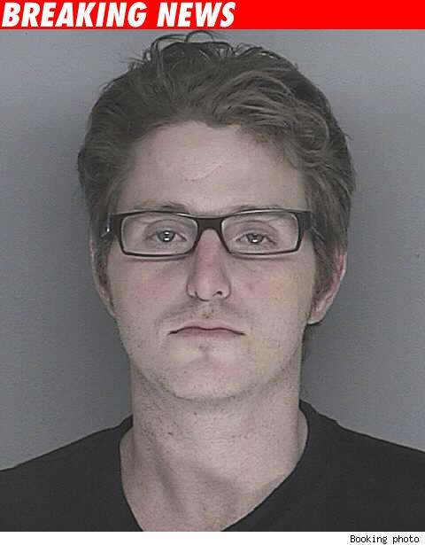 Cameron Douglas booking photo