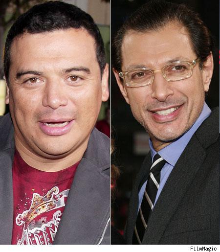Carlos Mencia, Jeff Goldblum