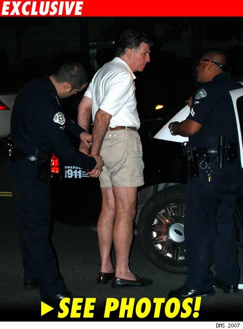 Gary Collins arrested: click to see photos