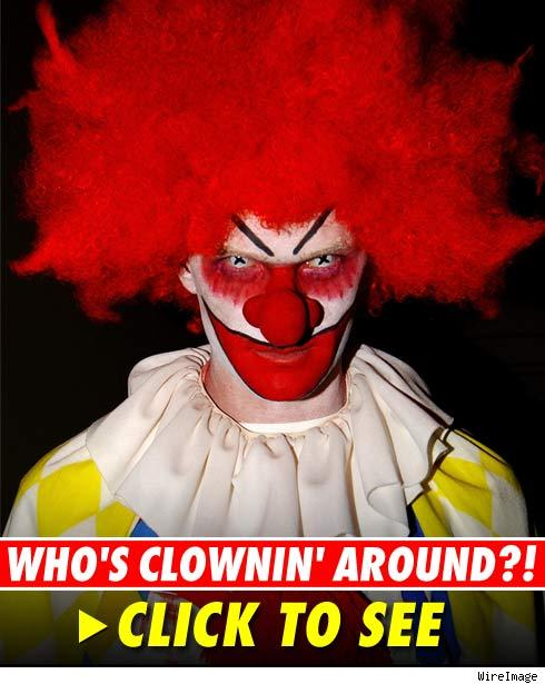creepy clown makeup. Who#39;s the Scary Clown?