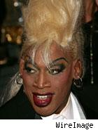 Dennis Rodman Cross-dressing former basketball star Dennis Rodman wants to ...