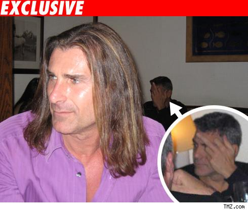 George Clooney and Fabio got into a little scuffle in a Los Angeles ...