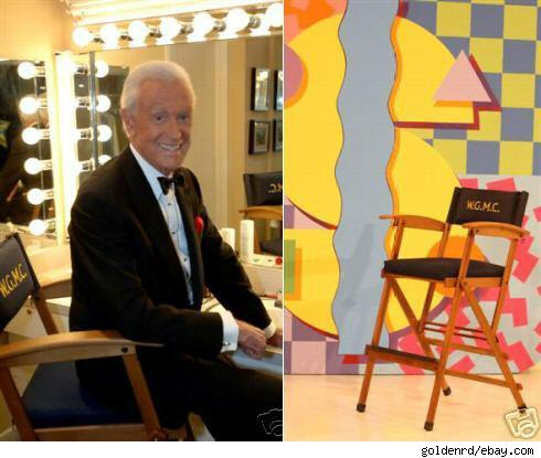Bob Barker and his chair