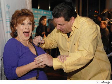 Joy Behar, Steve Schirripa