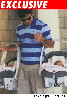 Dennis Quaid and Twins