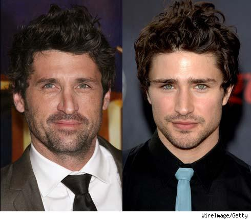 Patrick Dempsey and Matt Dallas