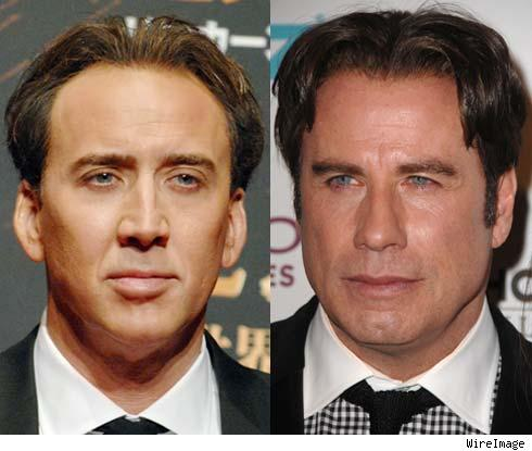 Nic Cage and John Travolta