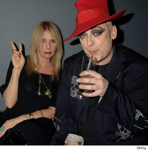 Rosanna and Boy George