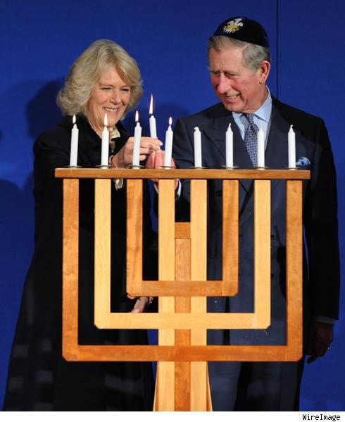 Prince Charles and his second wife Camilla Parker-Bowles