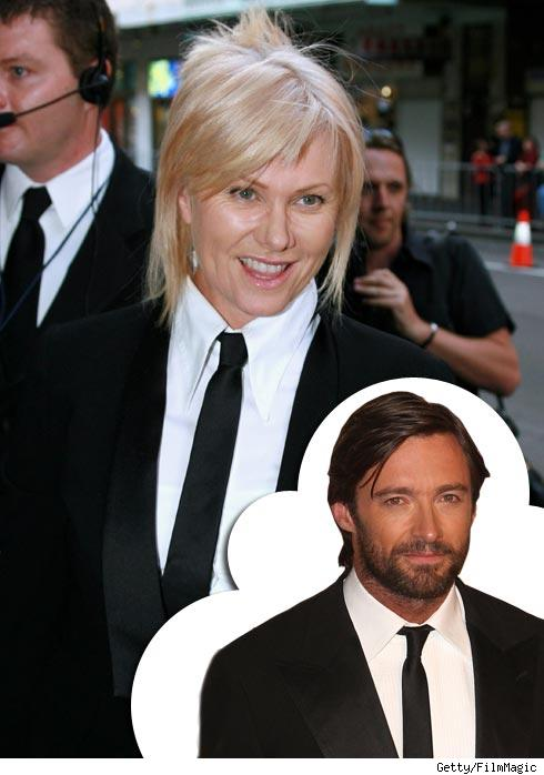 Deborah Lee Furness and Hugh Jackman