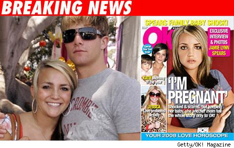 16-Year-Old Jamie Lynn Spears Is Pregnant