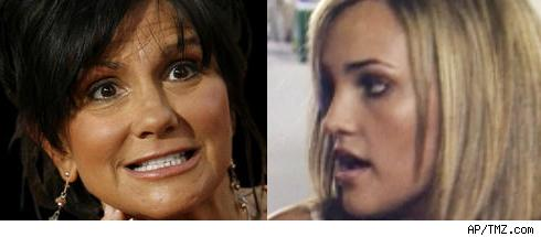 Lynne Spears and Jamie Lynn
