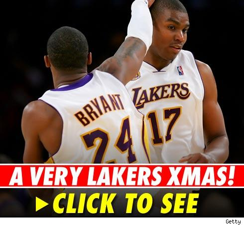 Lakers Christmas -- click to launch