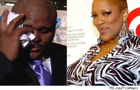 Ruben Studdard and Frenchie Davis