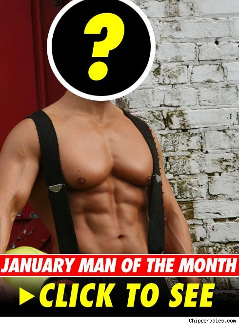 Chippendales Mr. January -- Click to Launch