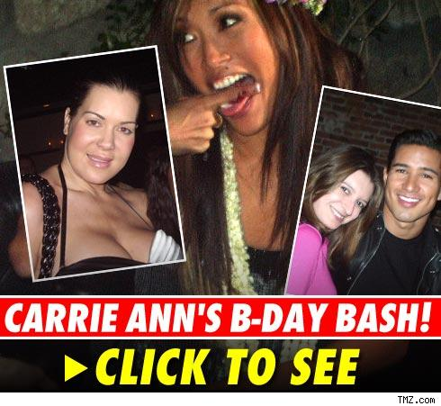 Carrie Ann Inaba's B-day Bash