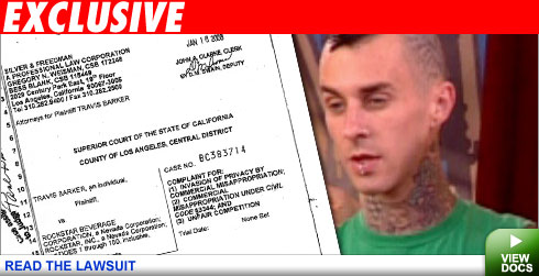 Read Travis Barker's Lawsuit!
