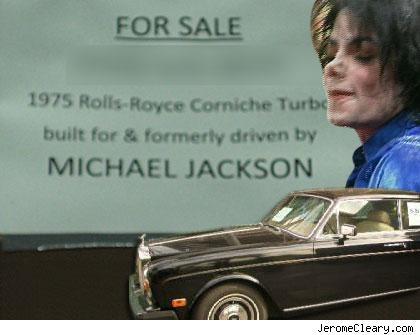 Michael Jackson's Old Rolls Royce