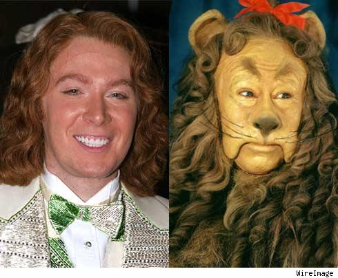 Clay Aiken and the Cowardly Lion