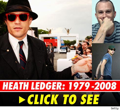 Remembering Heath Ledger: click to view gallery