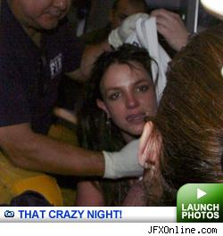 Brit Hauled Away -- click to launch