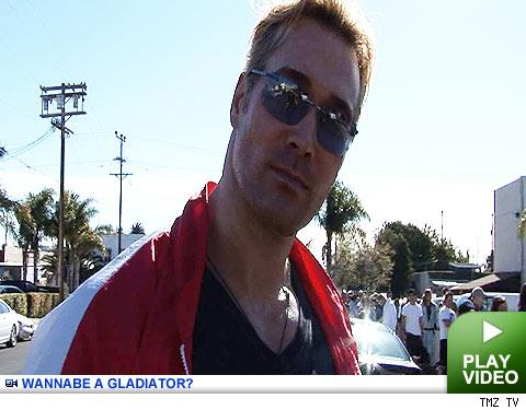 Gladiator auditions: Click to watch