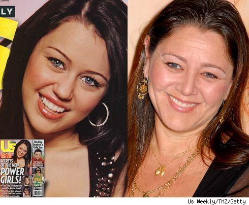 Miley Cyrus and Camryn Manheim