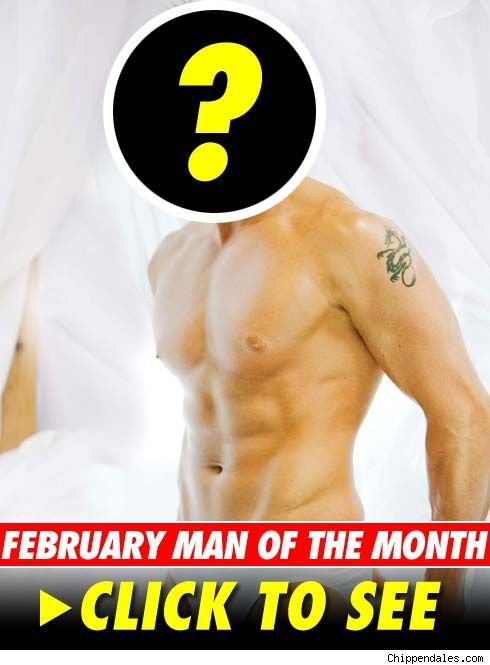 Chippendales February Man -- click to launch