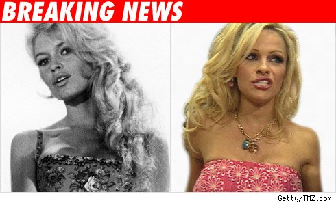 Brigitte Bardot, Pamela Anderson