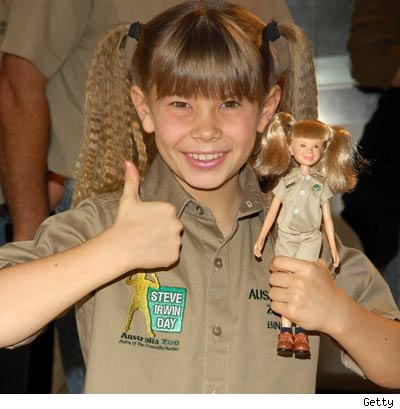 Bindi Irwin's doll