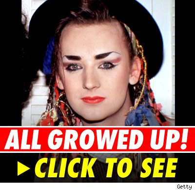 In the '80s, Boy George became a pop icon as the androgynous lead singer of