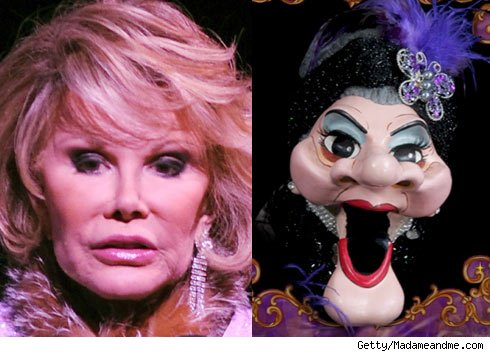 Joan Rivers and Madame