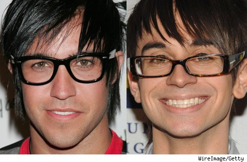 Pete Wentz and Christian Siriano