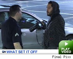 Pap busted: Click to watch