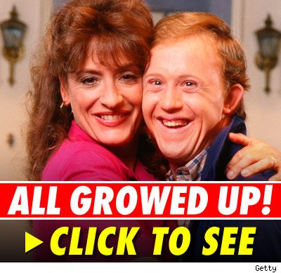 Patti Lupone and Chris Burke