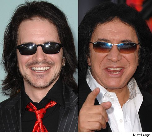 Hal Sparks and Gene Simmons