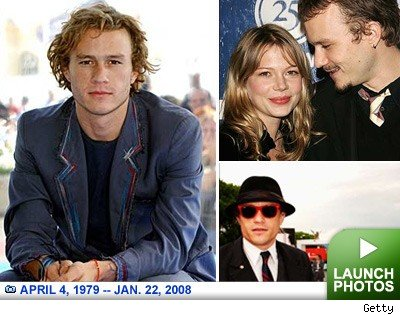 Heath Ledger: Click to view pics