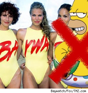 Simpsons out, Baywatch in