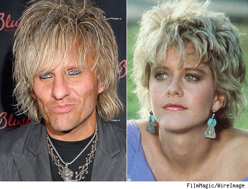 C.C. Deville and Meg Ryan