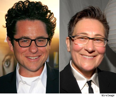 J.J. Abrams and K.D. Lang