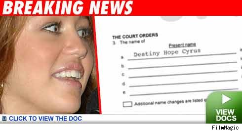 Miley Cyrus: Click to view the docs!