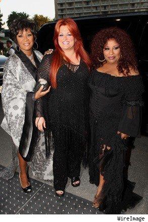 Patti, Wynonna and Chaka