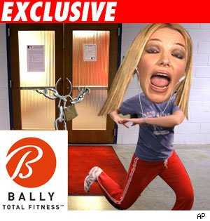 Brit gives aerobics class the boot