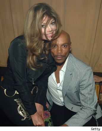 LaToya Jackson and RuPaul