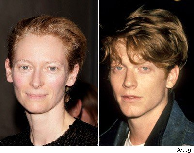Tilda Swinton and Eric Stoltz
